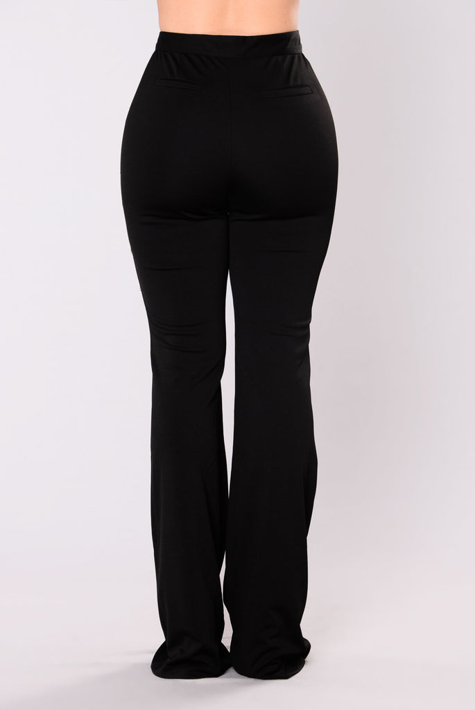 Karmen Trouser Pants - Black