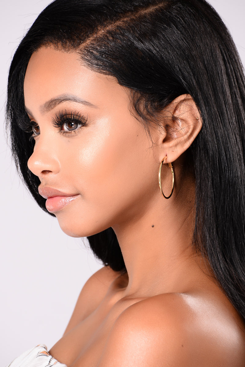 Liliana Hoop Earrings - Gold