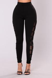 Loring Mesh Legging - Black