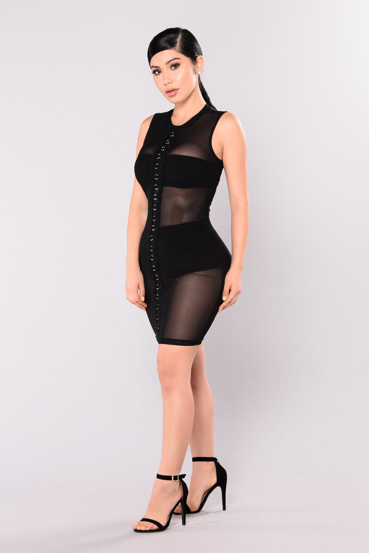 Molten Love Dress - Black