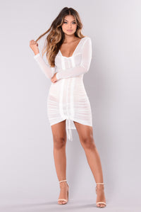 Video Girl Dress - White