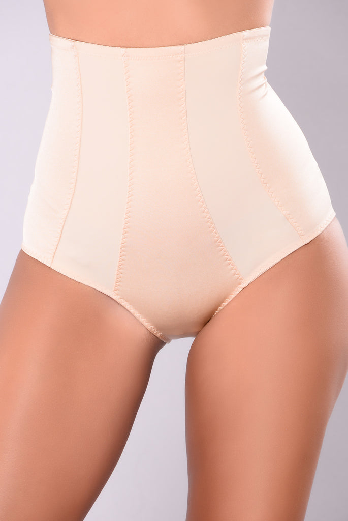 Ayesha High Waist Shaping Brief - Beige