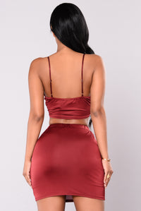 Tania Tank Top - Red Bean