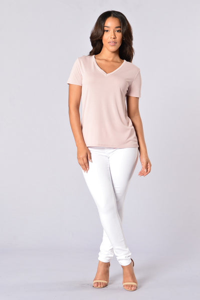 Everyone's Favorite Tee - Blush