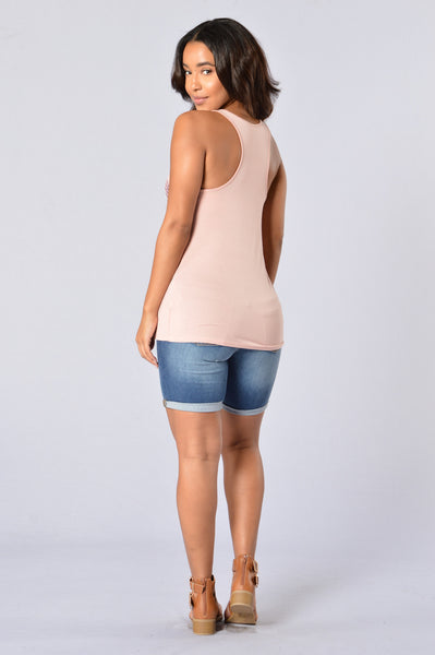 Shell and Tell Tank - Pink