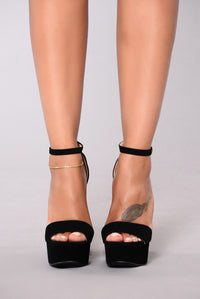 Taller Than Life Heel - Black