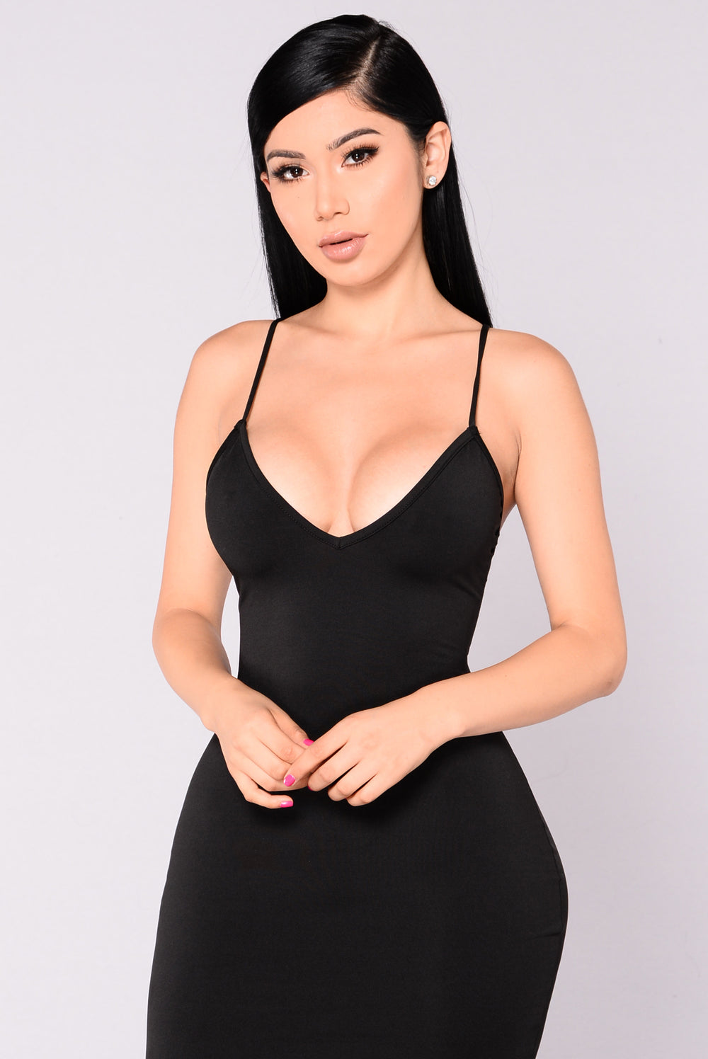 Marrakech Strappy Dress - Black