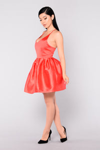 Birthday Party Dress - Red