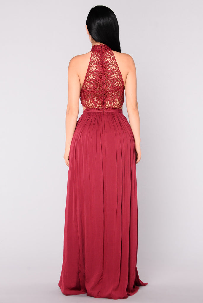 Andromeda Dress - Wine