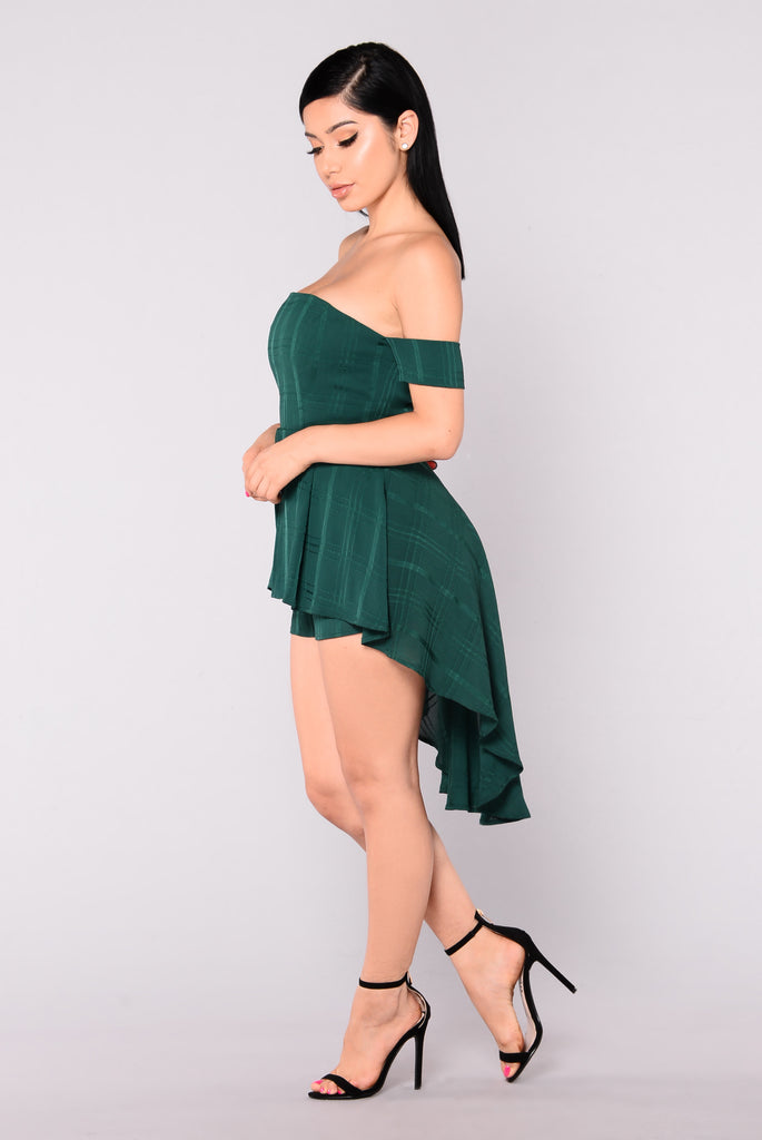 Ultra Dare Dress - Hunter Green