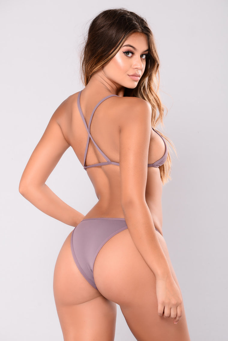 Itty Bitty Bikini - Purple