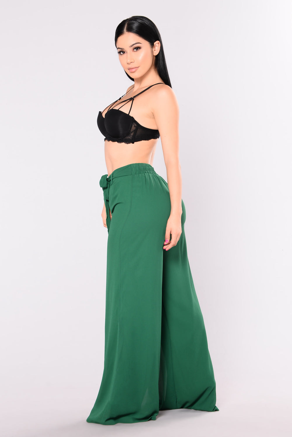 Di Amore Pants - Hunter Green