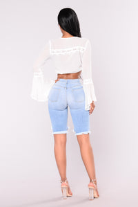 Lianne Bermuda Shorts - Light