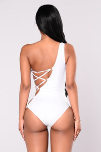 Sail The Waters Swimsuit - White