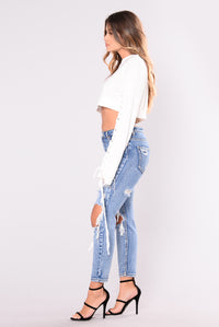 Jenny Steez Top - White