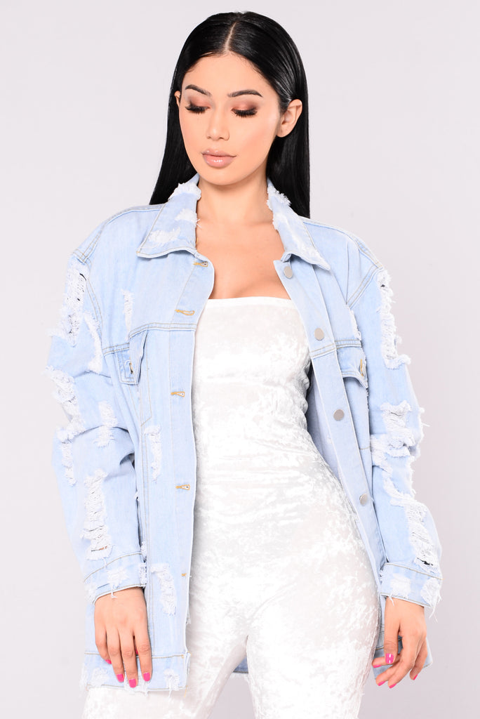 Fashion Tour Denim Jacket - Light Denim