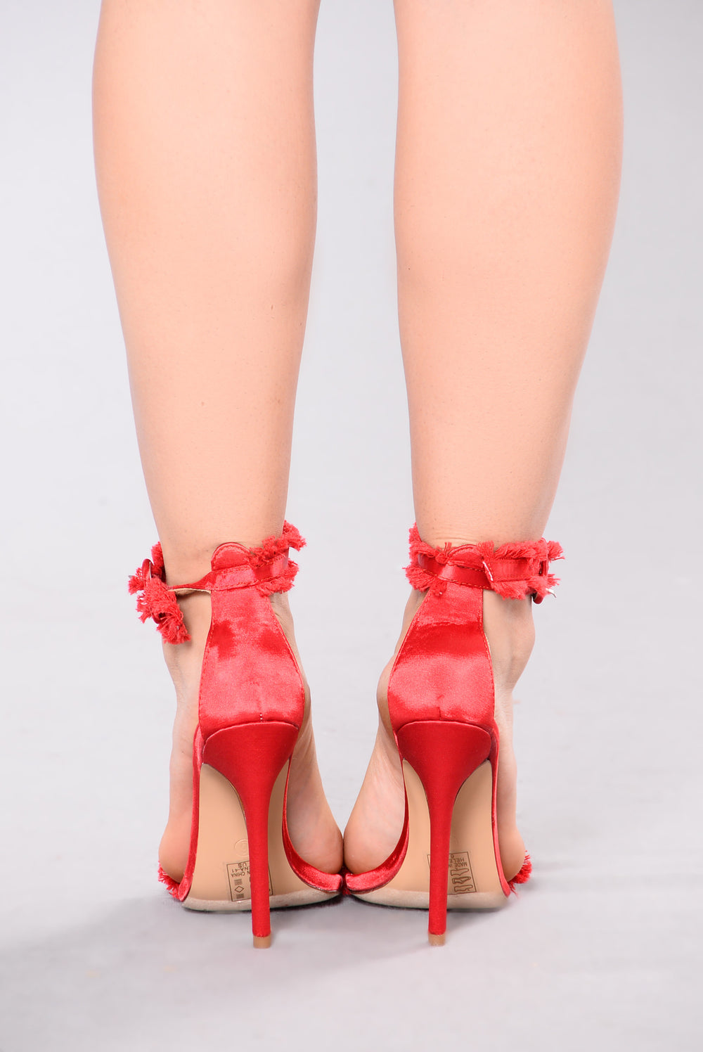 Tania Two Piece Heel - Red