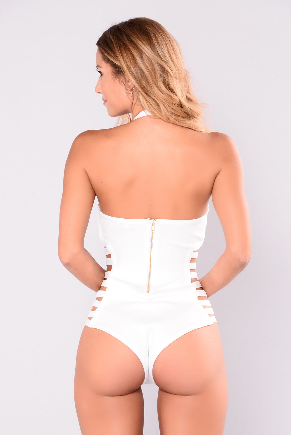 Monique Monokini - White
