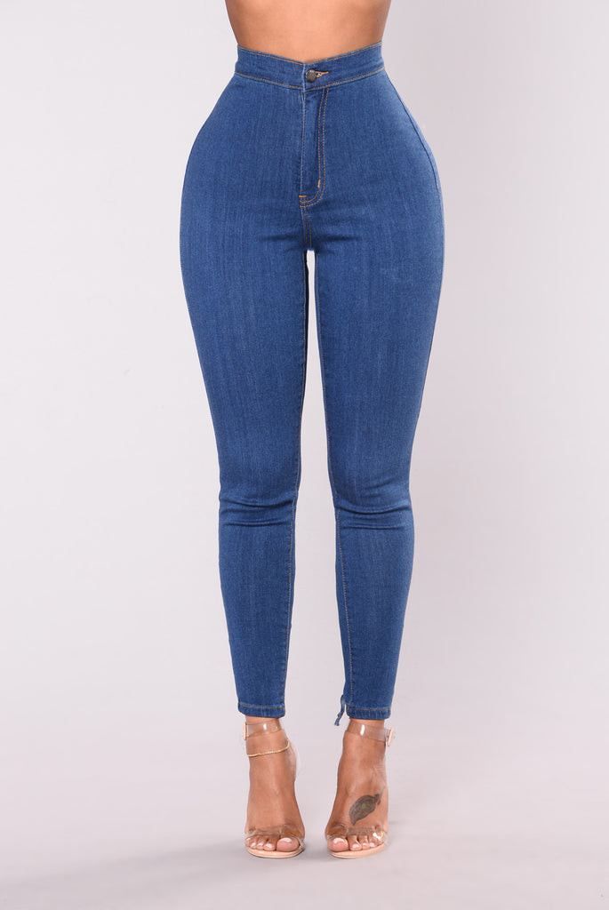 Bonny Lace Up Jeans - Medium