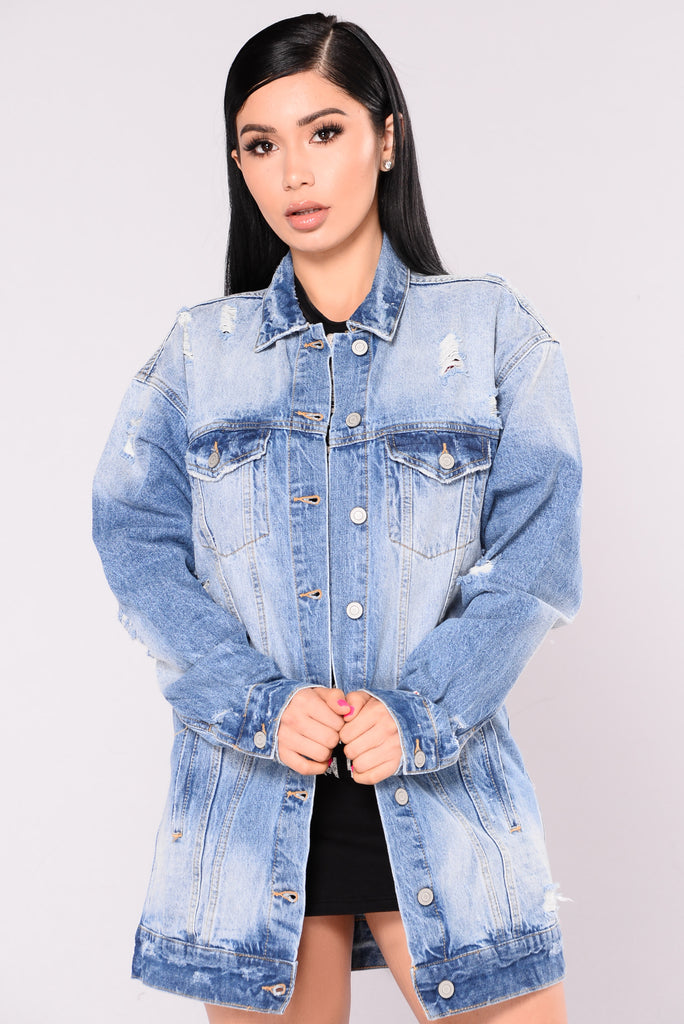Cali Girls Denim Jacket - Medium