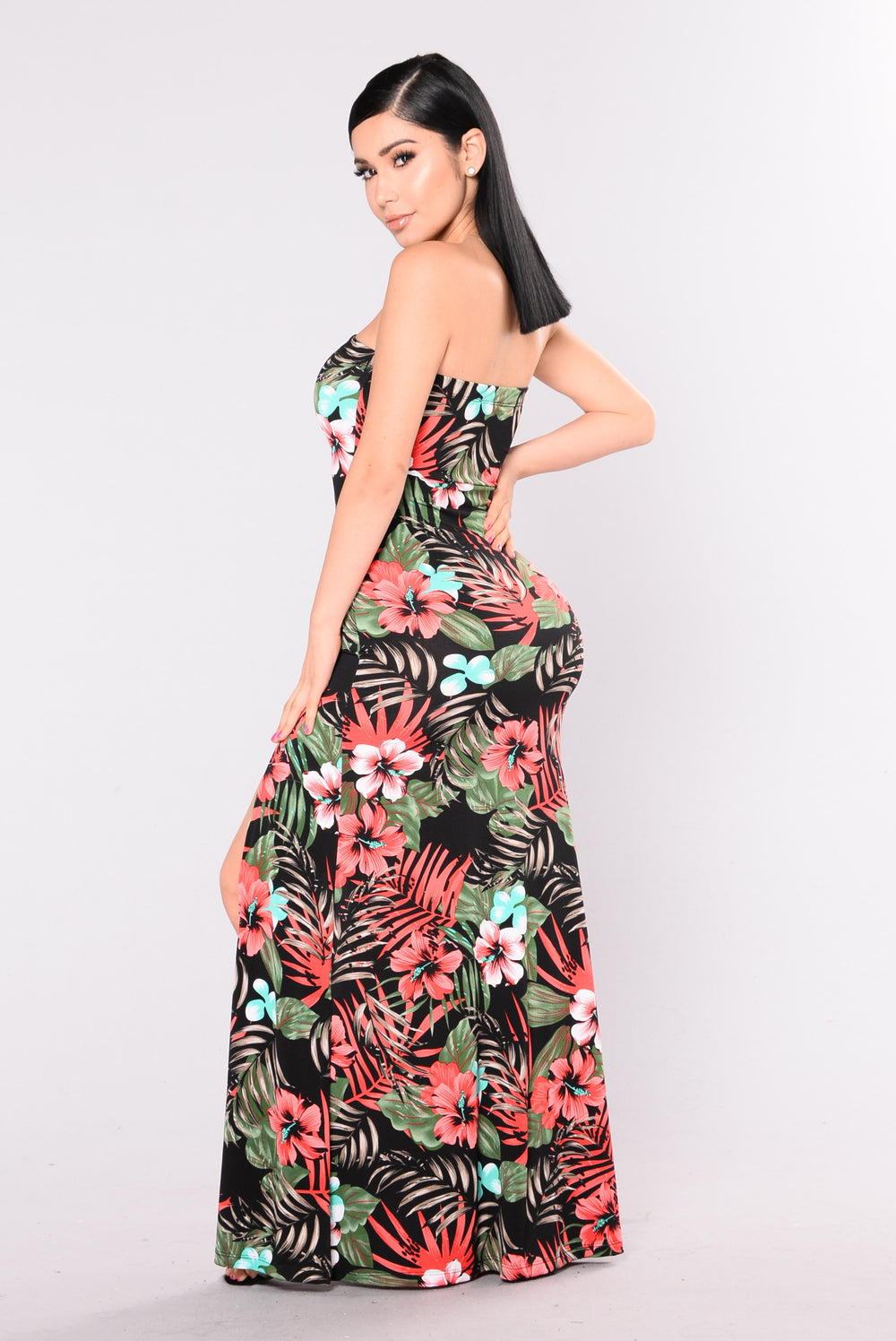 Dreaming Of Nirvana Maxi Dress - Red