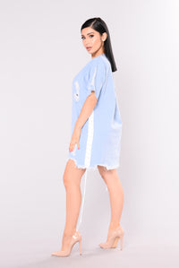Brinley Denim Dress - Light Denim