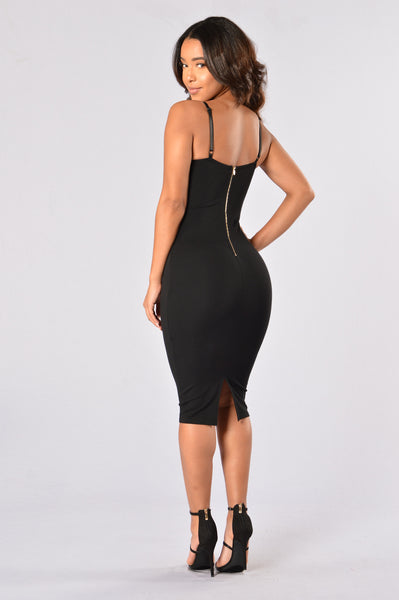 Party Chic Dress - Black