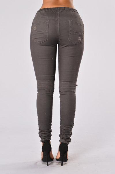 Born This Way Pants - Charcoal Grey