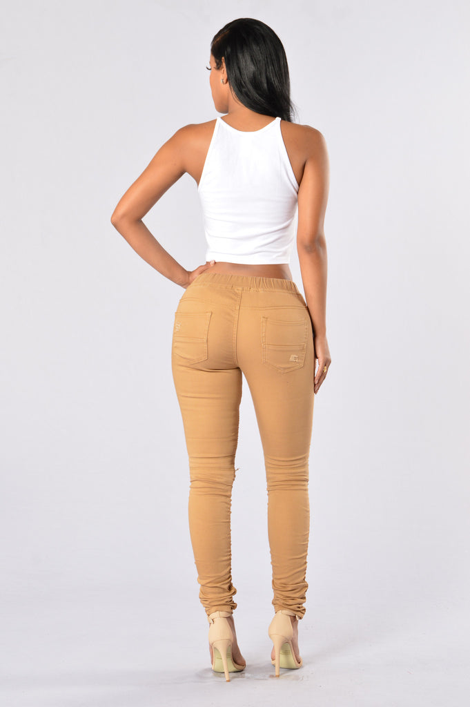Born This Way Pants - Wheat