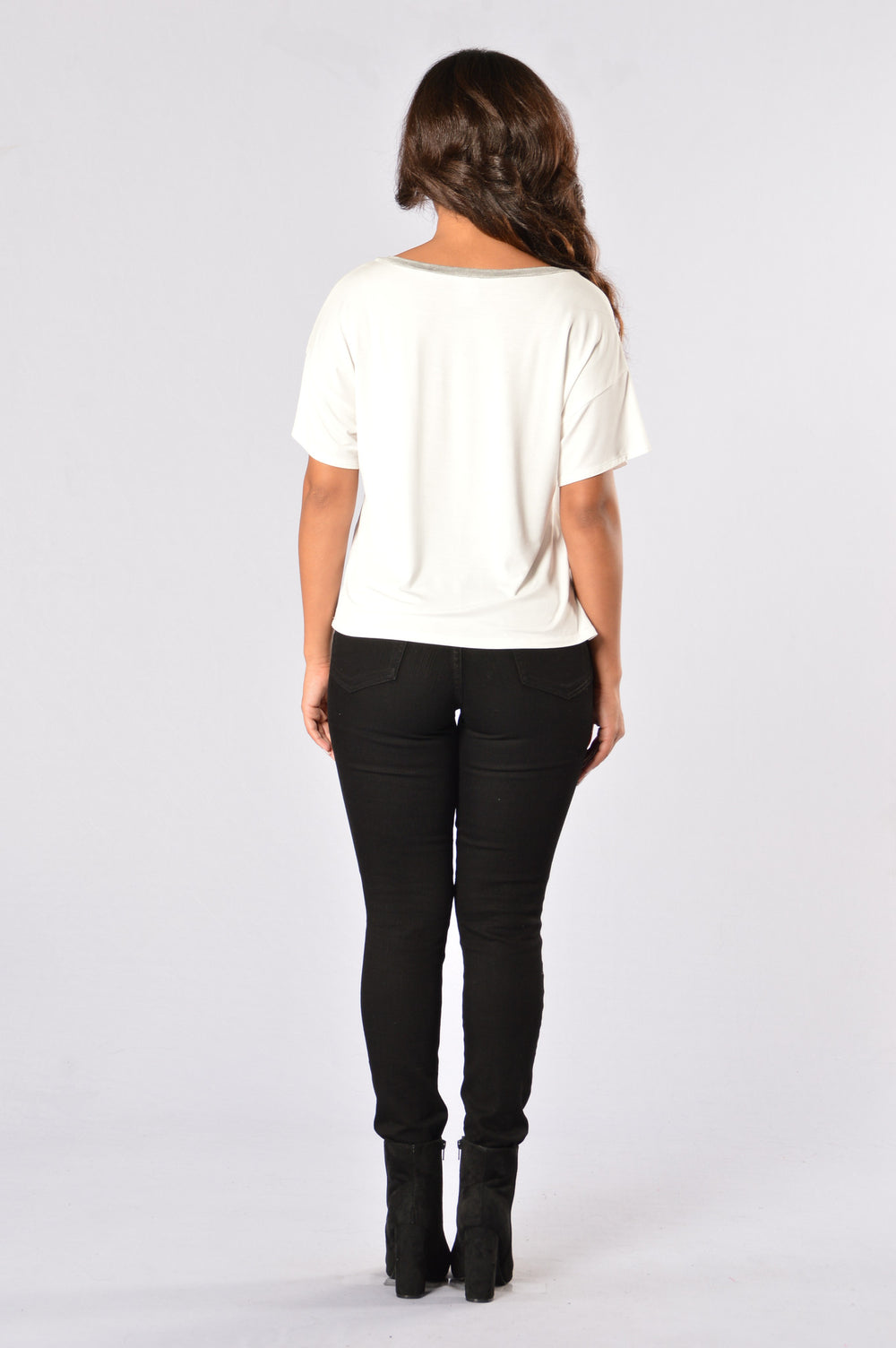 Patch Me Up Top - White