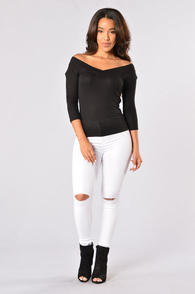 Hang with Me Top - Black