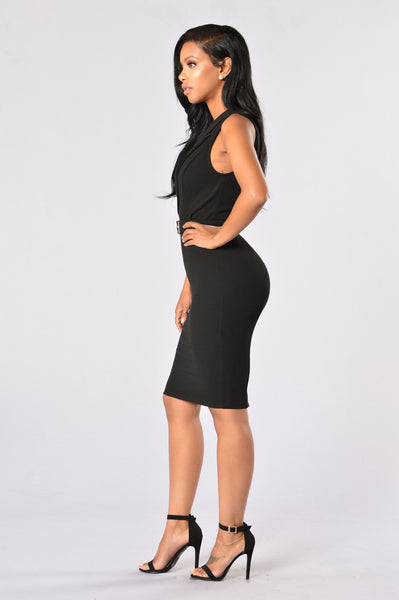 Glory Dress - Black