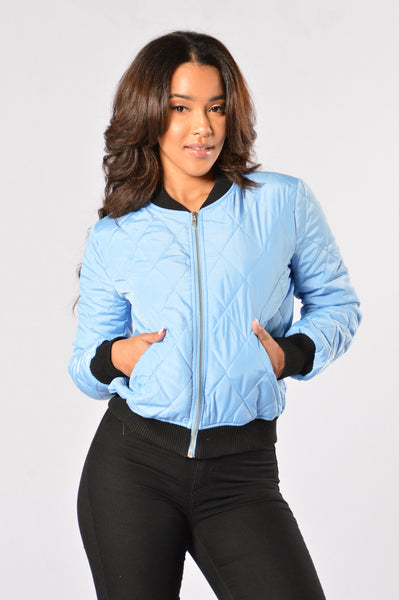 Freestyle Bomber Jacket - Blue