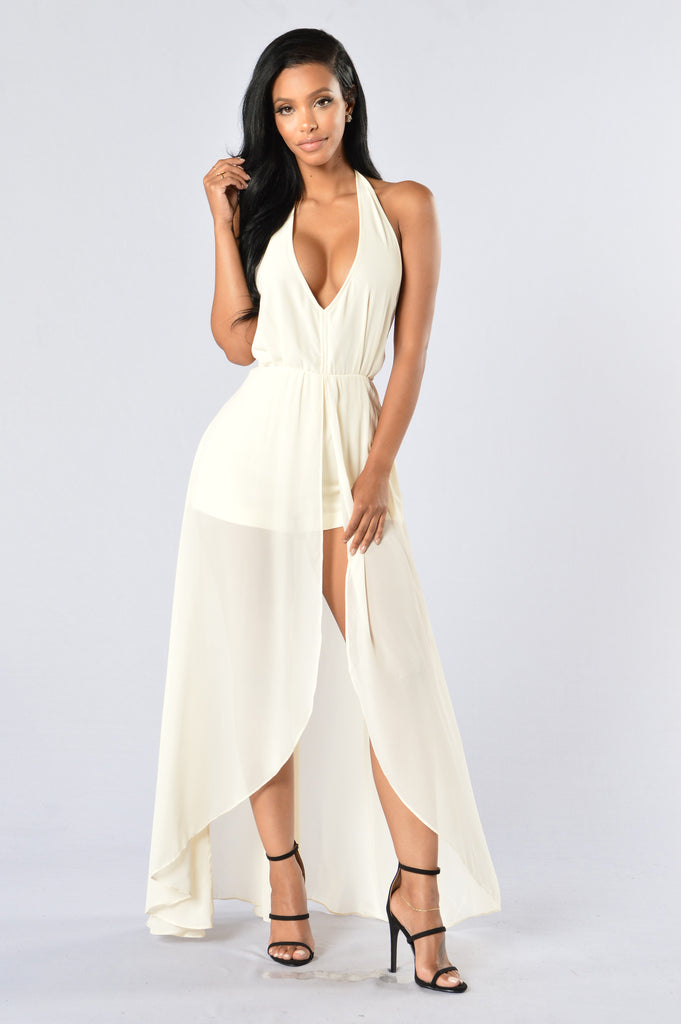 Easy Flow Romper - Ivory