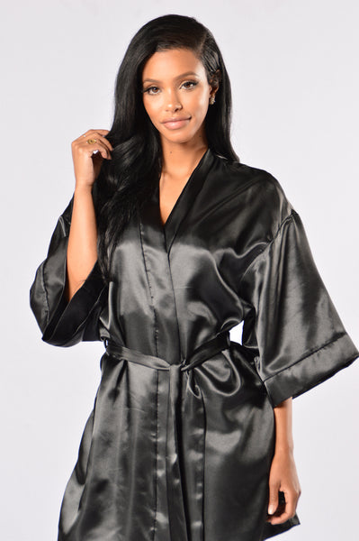 Lotus Robe - Black