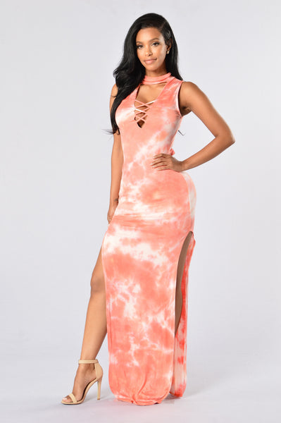 Energy In Every Movement Dress - Pink