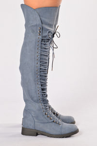 Toughen Up Boot - Blue