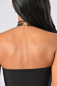 Reality Bites Choker Set - Black
