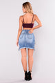 Jazzie Lace Up Skirt - Medium