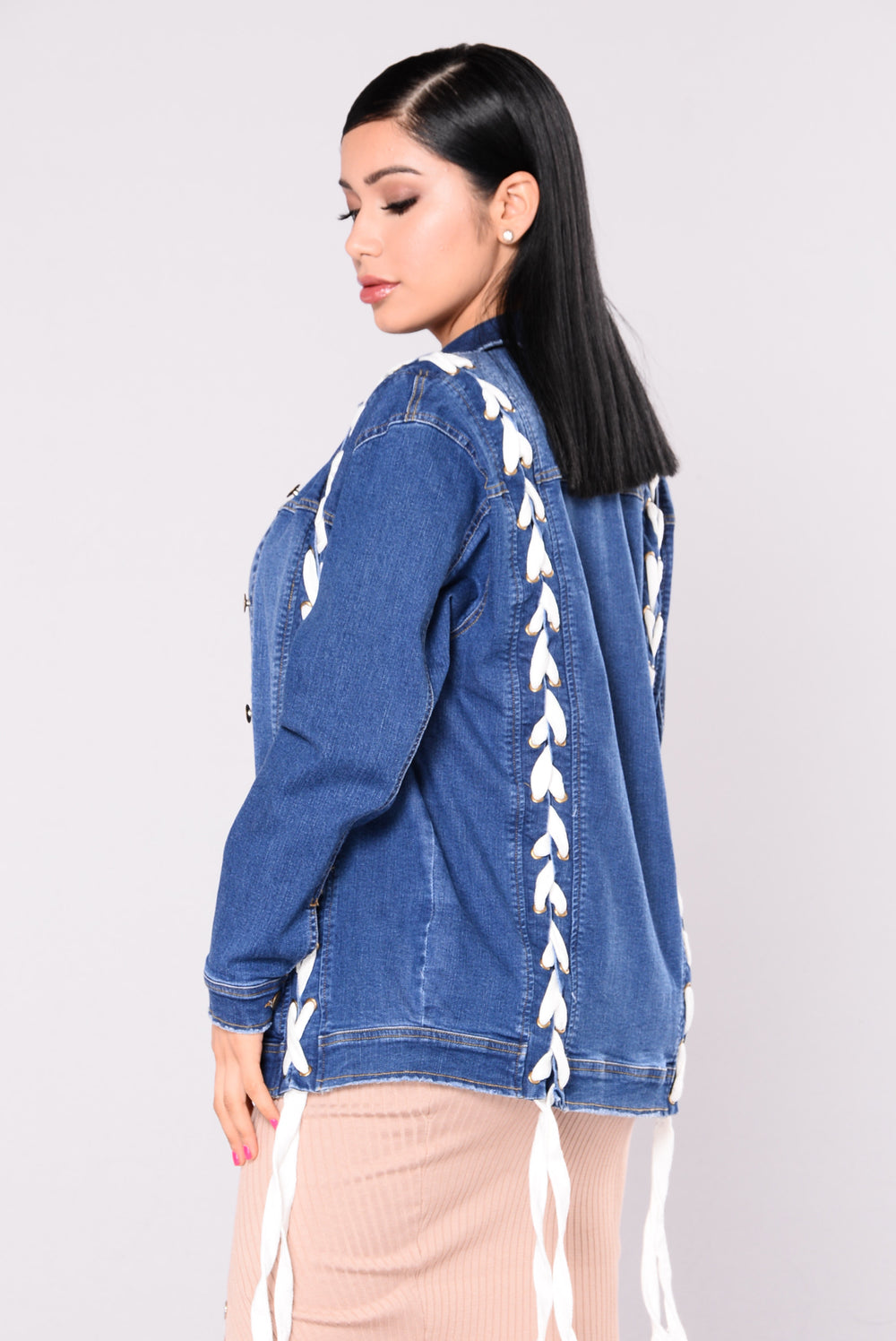 Love Letter Denim Jacket - Medium