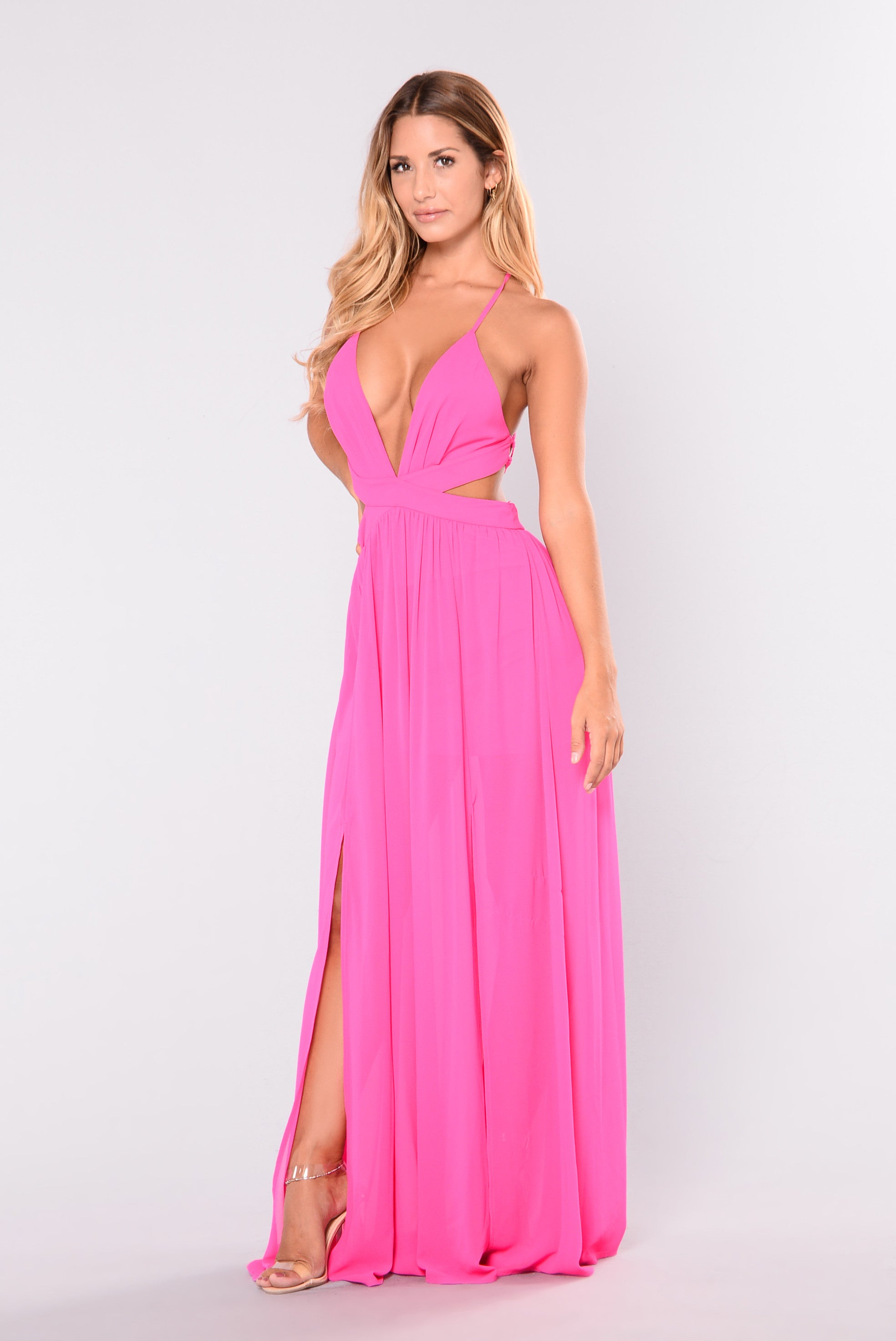 All summer long maxi dress hot pink jpg 1968x2944 Pink long dress 3329613aeba5