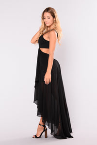 Come On Over Here Dress - Black