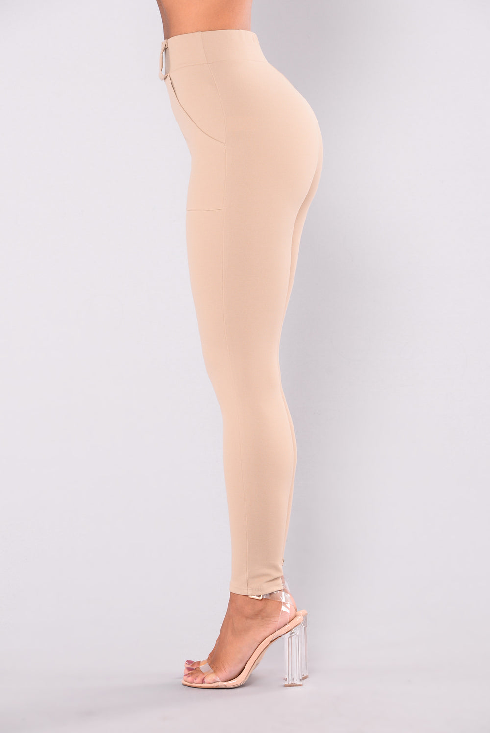 Nomad High Rise Pants - Taupe