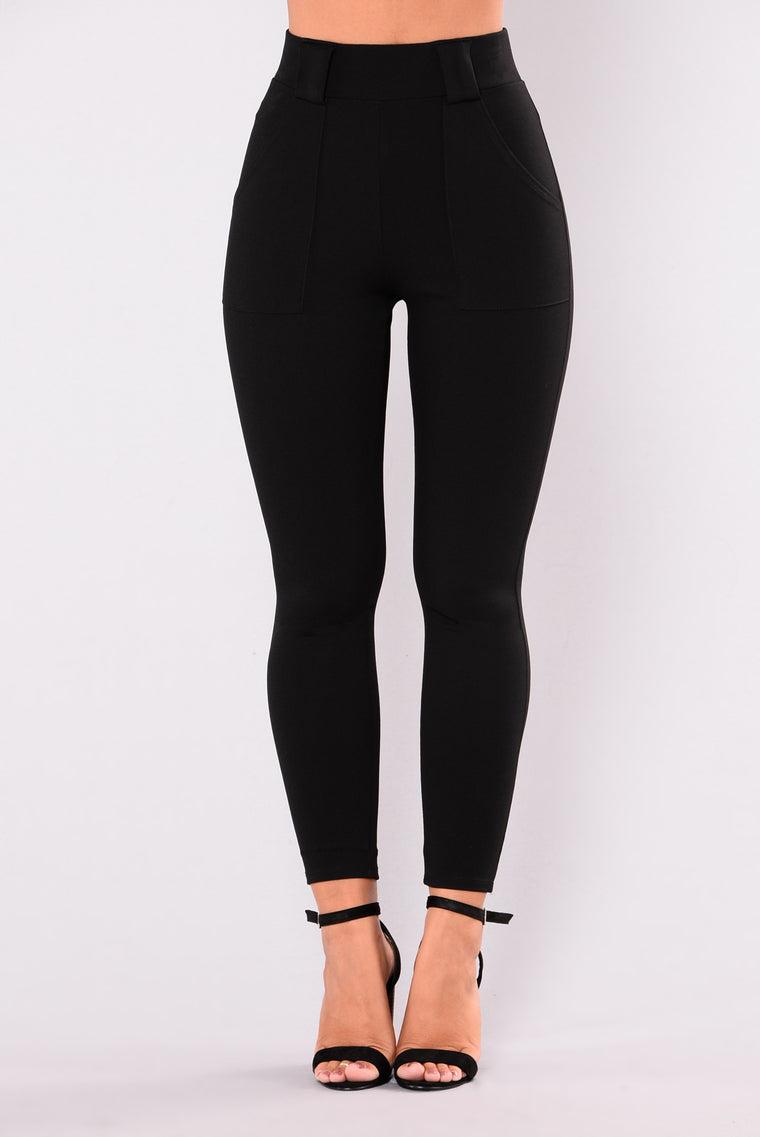 Nomad High Rise Pants - Black