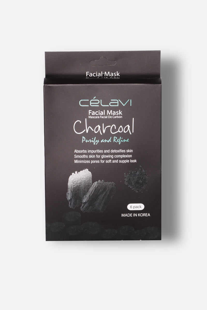 Black Facial Mask - Black