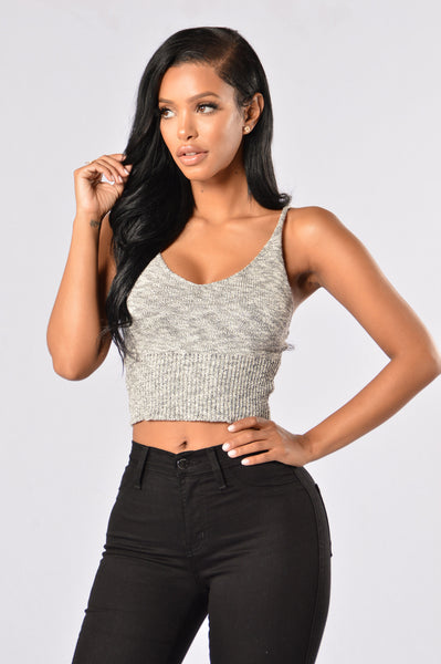 Angie Top - Grey