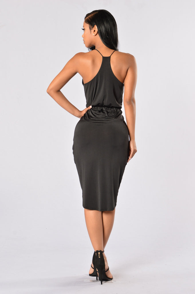 Finessin Dress - Black