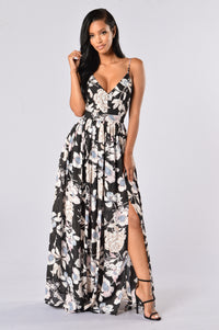 Summer Cruise Dress - Black