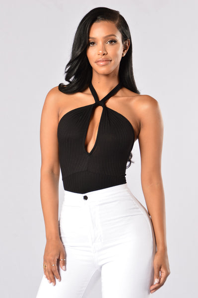 Tempting Bodysuit - Black