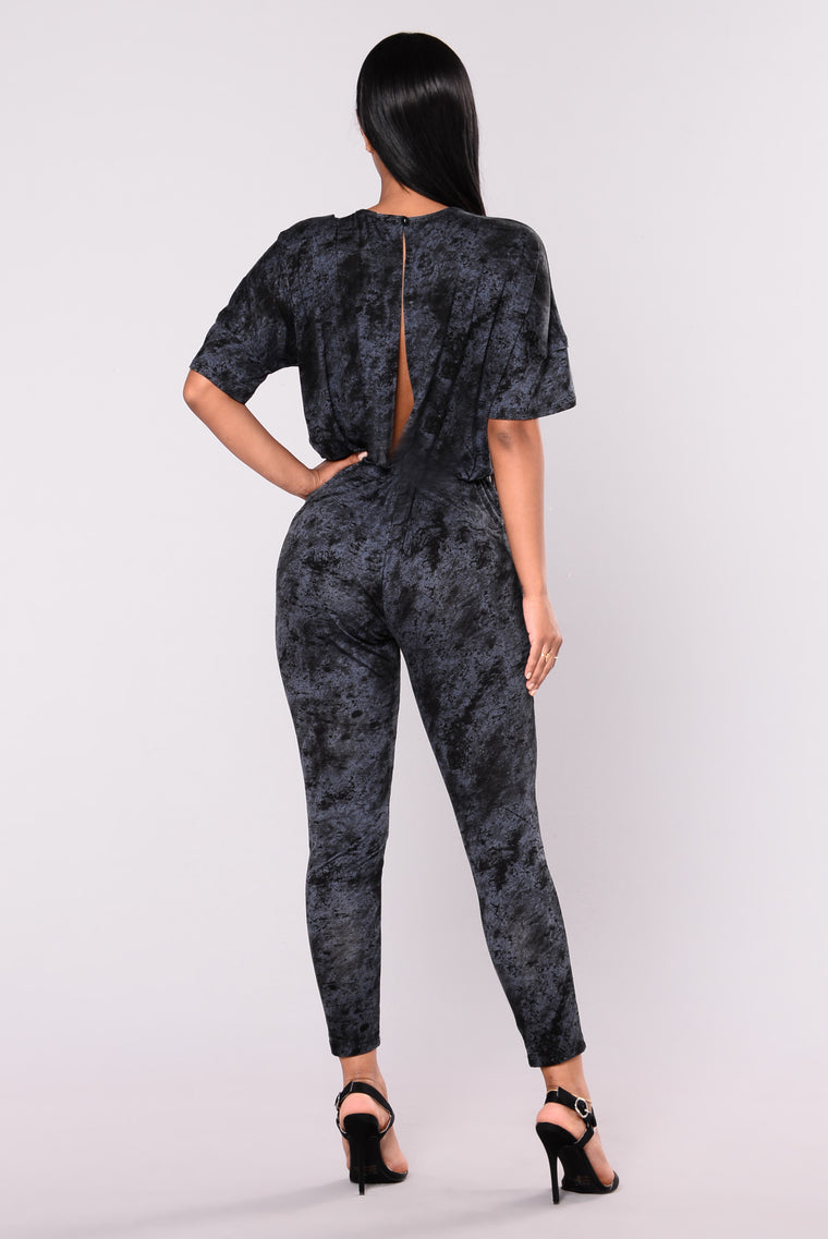 My Chick Boujee Jumpsuit - Black